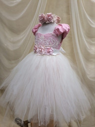 Victorian Silk Tutu Dress | Birthday Girl Tutu | Girls Tutu