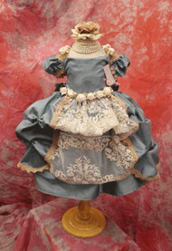 Couture Silk Girls Special Occasion Dress | Little Girls Couture Silk Dress