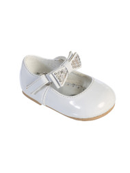 Baby Girl Dress Shoes | White Infant Baby Dress Shoes