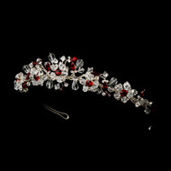 Couture Silver Blue Girls Tiara | Swarovski Tiara For Girls