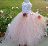 Couture Flower Girl Dress | Wedding Party Flower Girl Dress