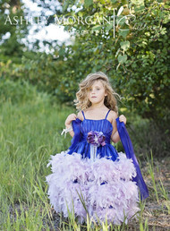 Girls Couture Wedding Flower Girl Dress | Children Formal Dress