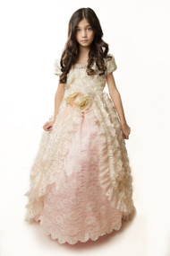 Wedding Couture Flower Girl Dress | Girls Couture Ball Gown