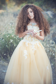 Couture Girls Pageant Dress | Couture Princess Pageant Dress