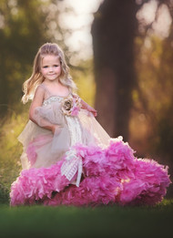 Couture Girls Party Dress | Girls Special Occasion Couture Gown