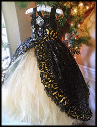 Girls Couture Party Pageant Gown | Couture Princess Girls Ball Gown