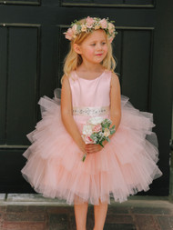 Girls Cupcake Wedding Tutu Dress | Flower Girl Tutu Party Dress