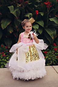 Girls Couture Sequin Dress | Sequin Flower Girl Tutu Pageant Dress