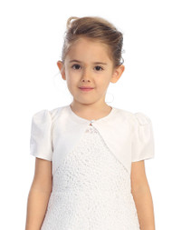 1st Communion Bolero | Bolero Jacket For Communion Dress