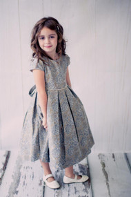 Jacquard Wedding Party Dress For Girls | Girls Formal Dress