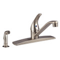 Single Lever RV Kitchen Faucet with Side Spray