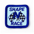 Shape N Race Patch - CLOSEOUT BULK PRICES