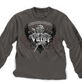 Valor Longsleeve T-Shirt - Gray