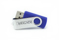 8GB Swivel Flash Drive: CSB Logo