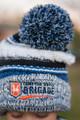 Pom Pom Beanie - knit hat