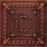 R47 Black Copper Extruded Styrofoam Ceiling Tile 20x20
