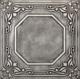 R32 Antique Silver Extruded Styrofoam Ceiling Tile 20x20