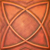 R13A Antique Copper Extruded Styrofoam Ceiling Tile 20x20
