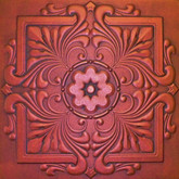 R22 Antique Copper Extruded Styrofoam Ceiling Tile 20x20