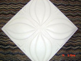 "M7W Tulip Styrofoam Ceiling Tile 20""x20"" Lot of 40PCS"