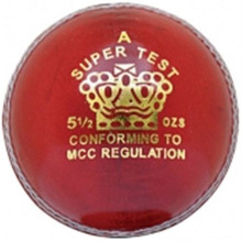 CA Super Test Cricket Ball'Red