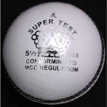 CA SUPER TEST CRICKET BALL WHITE