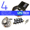 Autogas Conversion Kit with LPGTECH ECU Controller, KME Silver LPG Regulator and HANA Injectors