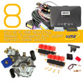 kme nevo plus 8 cylinders lpg conversion kit tomasetto artic valtek injectors autogas cng