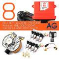 AG Zentrum pro 8 cylinders kme gold reducer hana 2001 injectors lpg conversion kit