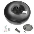 565-240mm 44-5 Liters Internal 30 degree One Hole Propane LPG Autogas Tank Vessel Polmocon