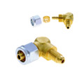 8mm connector of lpg poly pipe faro with m10-1 thread for reducer pressure converter