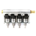 dymco lpg cng injector 4 cylinders silver rail type injector autogas i3000