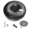 650-270mm 71-5 Litres Internal 30 degree One Hole Propane LPG Autogas Tank Vessel Polmocon