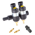 lpgtech 2 cylinders dragon bf autogas lpg propane cng injectors high flow performance