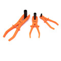 hoses pipes lpg pinching pliers 3 pieces