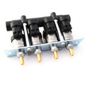 Barracuda BR124P 4CYL Injectors Rail
