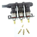 barracuda 123 3 cylinders lpg cng autogas injector big flow 130Nl/min