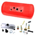 60litres Ø300mm L940mm vapour gas cylinder tank lpg storage for motorhome, caravan, campervan, rv set with valves