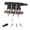 lpgtech yeti 3 cylinders autogas injectors rail low temperatures