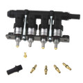lpgtech yeti 4 cylinders autogas injectors rail low temperatures