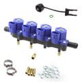 omvl gemini autogas lpg injectors rail 4 cylinders