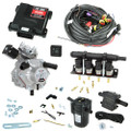 4 cylinder autogas conversion kit: Optima Nano with Shark 1200 reducer and Barracuda injectors