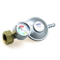 Butane Shell Bottle Regulator 30mbar with gauge