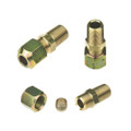 "R1/4"" G1/4"" to G1/4"" 8mm Copper Pipe Connector"