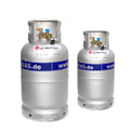Twin gas Cylinder Refillable System aluminium
