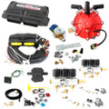 ac stag 6 cylinder autogas conversion kit qmax basic non obd with 250hp reducer 6 injectors