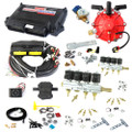ac stag 8 cylinder autogas conversion kit qmax plus obd with 250hp reducer 8 injectors