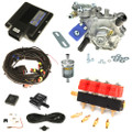 lpgtech 224 4 cylinders ecu lpg controller with tomasetto nordic and valtek type 30 injectors autogas lpg conversion kit