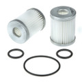 kn-21 polyester  lpg filter repair cartridge set with o'rings MATRIX, BEDINI, ZAVOLI, E-GAS