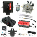 4 Cylinder autogas conversion kit based on AEB MP48 ECU with Valtek CPR and Type-32 Injectors